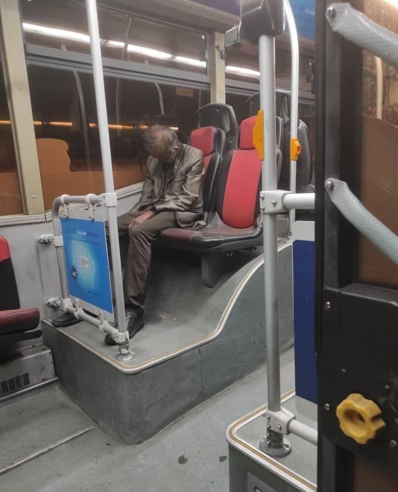 کشف جسد در اتوبوس پایتخت