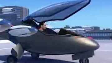 رونمایی از طرح اولیه هواپیمای فوق سریع / فیلم