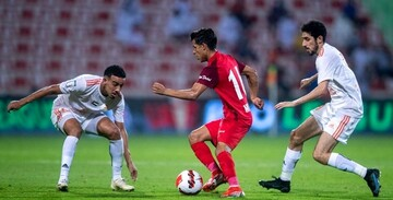 انتخاب قائدی به عنوان بهترین بازیکن هفته لیگ برتر امارات / عکس