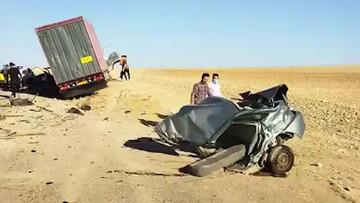 فیلمی باور نکردنی از نصف شدن پراید در برخورد با ایسوزو