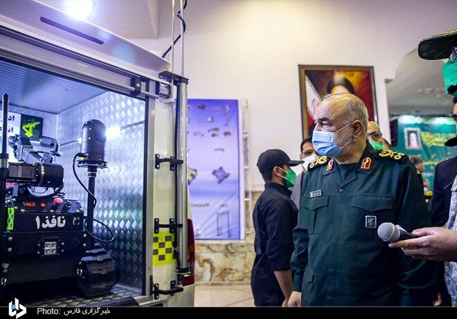 رونمایی از دستاوردهای راهبردی سپاه در حوزه چک و خنثیسازی بمب / تصاویر