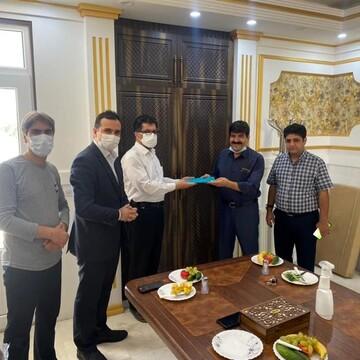 پرداخت خسارت کارخانه فرش کاشان توسط بیمه دی