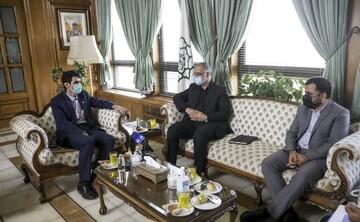 دیدار و گفتگوی زاکانی با وزیر ارتباطات / تصاویر