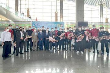 بازگشت کاروان والیبال ایران به کشور