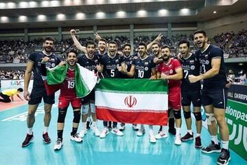 ویدیویی پربازدید از خوشحالی جالب بازیکن تیم ملی والیبال ایران پس از قهرمانی آسیا