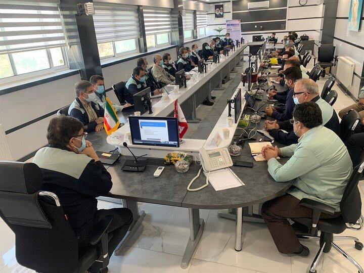 برنامه ریزی ذوب آهن اصفهان جهت دریافت مجدد گواهینامه موسسه CARES انگلستان