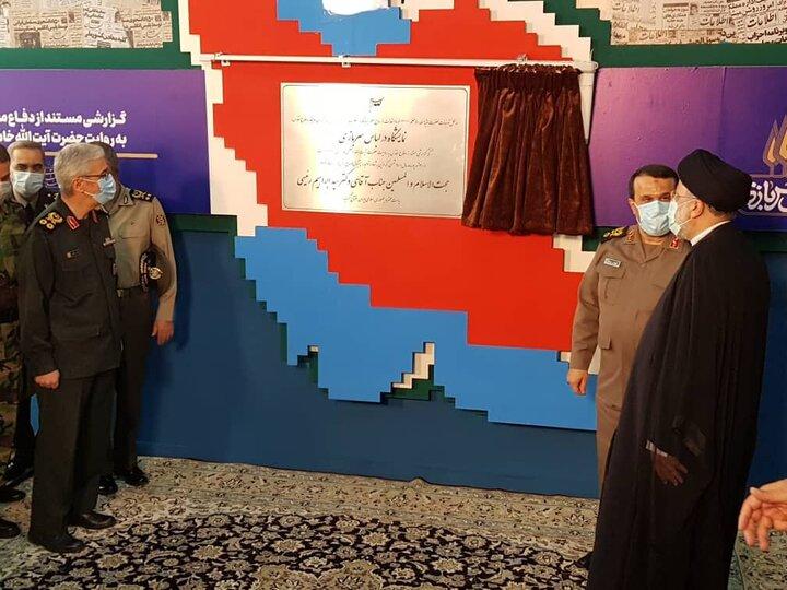 افتتاح نمایشگاه دائمی «در لباس سربازی» با حضور رییسجمهور