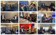 خطیبزاده گزارشی از دیدارهای وزیر امور خارجه در نیویورک منتشر کرد