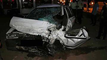 تصادف هولناک پیکان و کامیون با ۶ کشته و مصدوم