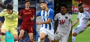 قرار گرفتن نام ۳ مهاجم ایرانی در فهرست بهترین لژیونر هفته فوتبال آسیا