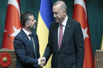 روسای جمهور ترکیه و اوکراین در نیویورک دیدار کردند