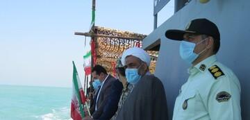 رژه دریایی سپاه در سواحل بوشهر / تصاویر