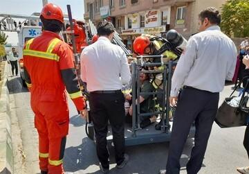 جزییات آتشسوزی گسترده در خیابان قزوین تهران