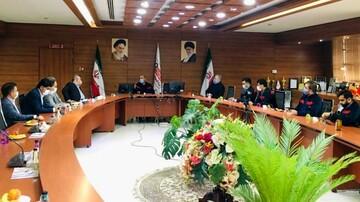برگزاری جلسه مدیران بانک ملت استان با مدیران اکسین