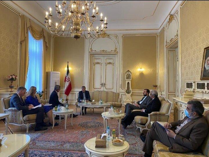دیدار اسلامی با دبیرکل وزارت خارجه اتریش