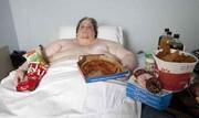 چاقترین مرد جهان که زود درگذشت! / عکس
