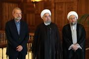 سه رییس قوه سابق این روزها چه میکنند؟ / پیشبینی آینده سیاسی روحانی و برادران لاریجانی