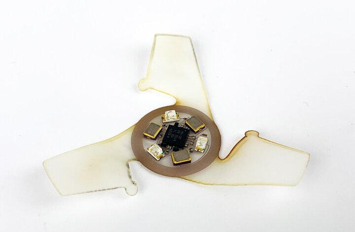 کوچکترین سازه پرنده ساخته شد / عکس