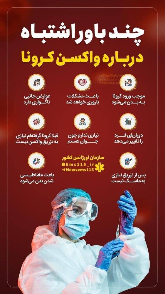 باورهای غلط درباره واکسن کرونا که از آن بیاطلاعید! / عکس