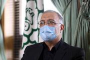 تزریق واکسن کرونا توسط شهردار تهران/ فیلم