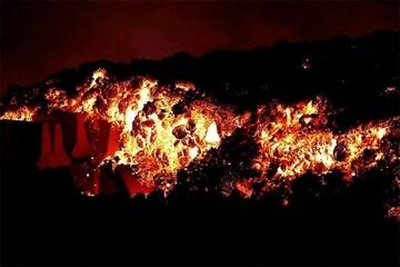 پنجمین روز فوران آتشفشان لاپالما در جزایر قناری / فیلم