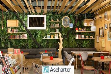 نگاهی به کافه کتاب های تهران با خرید بلیط چارتری از آس چارتر