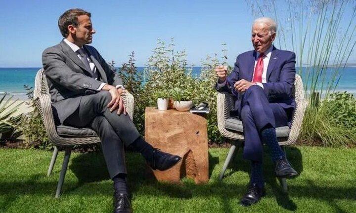 بایدن به اشتباه آمریکا در برخورد با فرانسه اذعان کرد