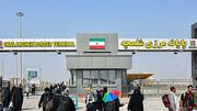 مرز شلمچه بعد از خروج ۵ هزار زائر اربعین بسته شد / فیلم