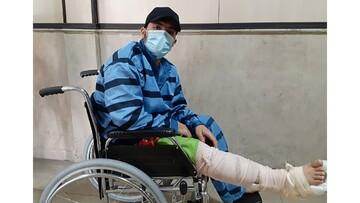 سارق مسلح اتوبان همت تهران دستگیر شد / عکس