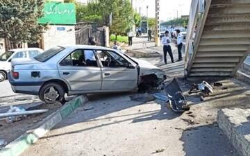 حادثه دلخراش در تهران / ۲ عابر پیاده جان باختند