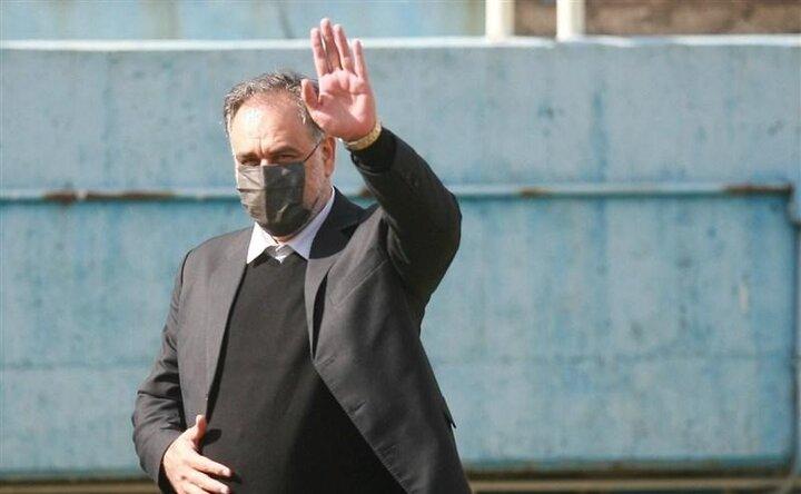 پیام خداحافظی احمد مددی با هواداران استقلال