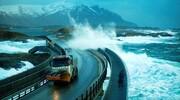 جاده عجیب و مرگبار که زیباترین مسیر رانندگی جهان است! / عکس