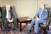 دیدار امیرعبداللهیان با وزیر خارجه الجزایر