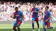 خلاصه بازی بارسلونا ۳-۰ لوانته /فیلم