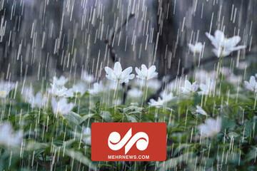 باران پاییزی ۱۴۰۰ در مازندران /فیلم