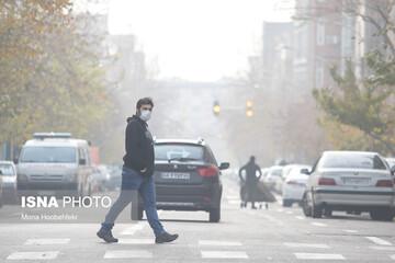 ناسالم شدن هوای تهران برای گروههای حساس