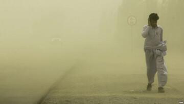 وقوع توفان شن وحشتناک در زابل با سرعت ۱۱۲ کیلومتر بر ساعت