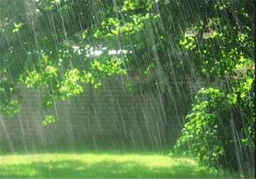 بارش باران رگباری موقت در نوار ساحلی کشور