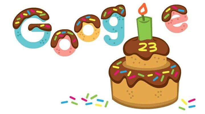برگزاری جشن تولد ۲۳ سالگی گوگل!