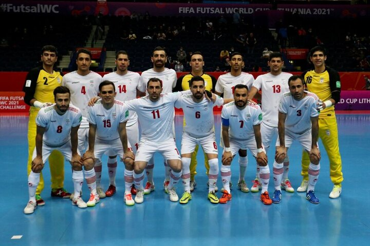 حذف تیم ملی فوتسال ایران از جامجهانی