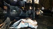 بامداد امروز ۲ مرد تهرانی زنده زنده سوختند / عکس تلخ