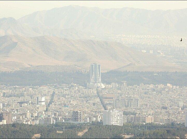 پیشبینی پدیده خیزش ریزگردها در مهر و آبان / هوای این ۸ شهر ایران امروز آلوده است