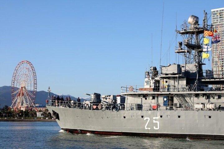 ورود ناوگروه نظامی ناتو به آبهای ساحلی گرجستان