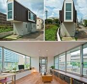 رونمایی از عجیبترین خانه ژاپنی / عکس