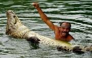 مردی عجیب که یک حیوان را به زنش ترجیح داد! / تصاویر