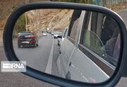 وضعیت ترافیکی جادههای کشور ۸ مهر ۱۴۰۰ / ترافیک در جاده چالوس نیمه سنگین است