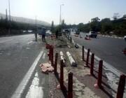 تصادف هولناک زائران اربعین در اهواز / ۱۴ نفر کشته و زخمی شدند