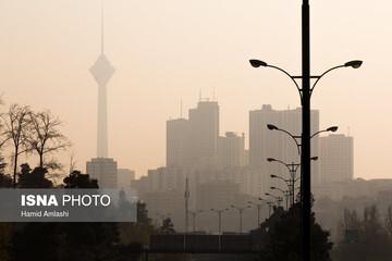 رکوردشکنی بیسابقه آلودگی هوای تهران در مهر ۱۴۰۰