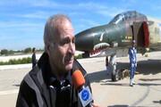 تشییع پیکر خلبان افسانهای وطن / فیلم