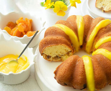 کیک قیسی نرم، لطیف و لذیذ + طرز پخت